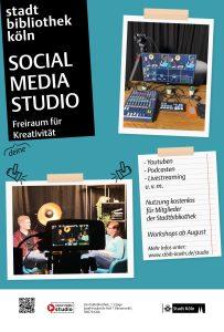 Social Media Studio Citylight Poster