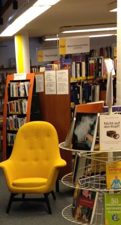 Foto von unserem neuen Sessel