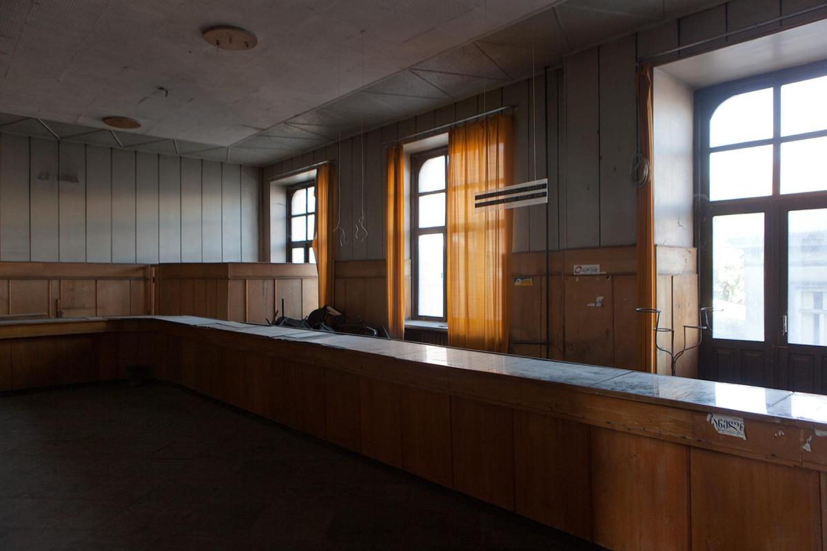 Raum in der Post in Tiflis