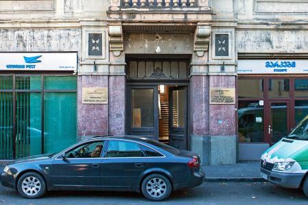 Eingang der Post in Tiflis