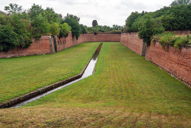 Graben in der Festung Theresienstadt