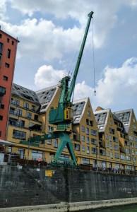 Das 'Siebengebirge' am Rheinauhafen