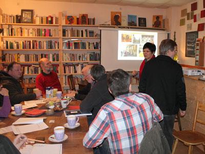 SPD-Fraktion zu Gast bei Stadthalten-Chemnitz e.V., 2013