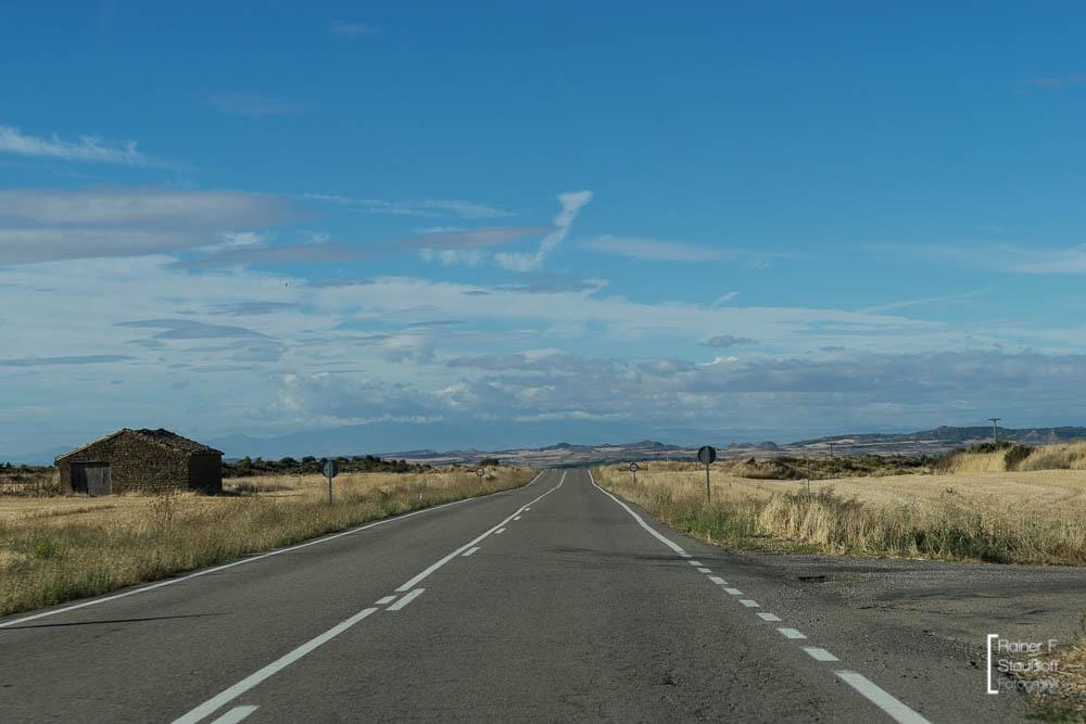 Aragon, kein Baum, kein Strauch