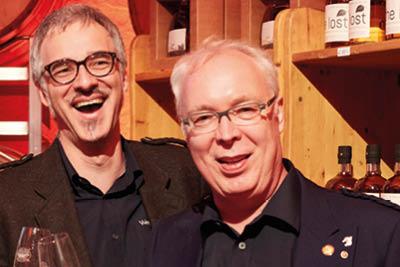 Olaf Manns und Paul Becher © Röder-Moldenhauer