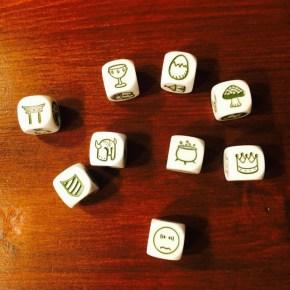 Würfelset Geschochtenwürfel, Rorys Story Cubes