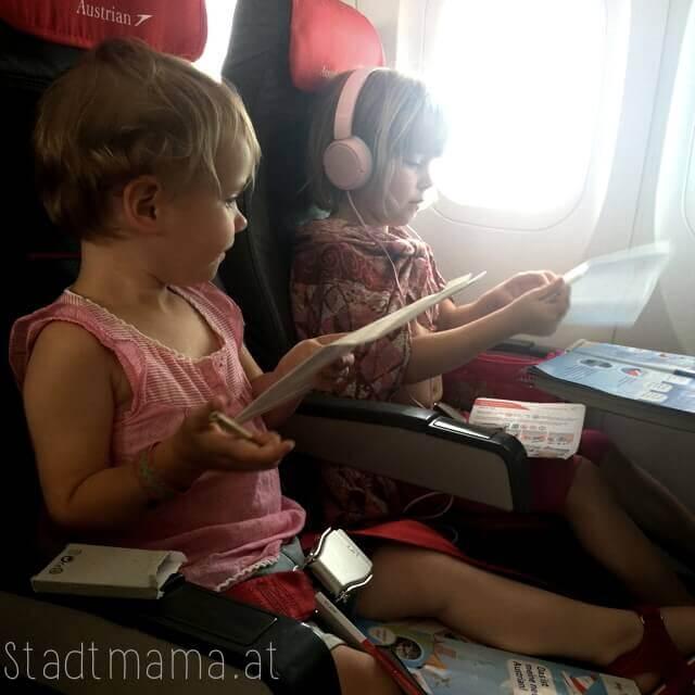 Fliegen mit Kindern