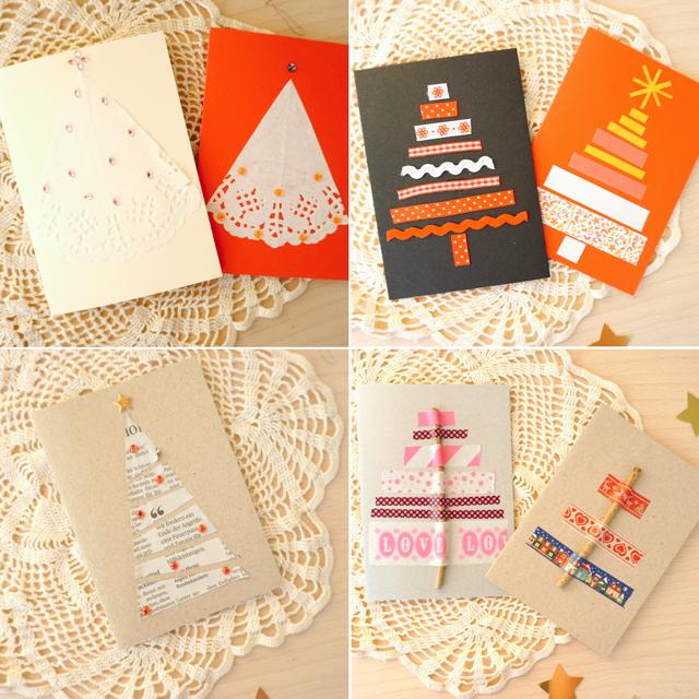 Weihnachtskarten selbser machen