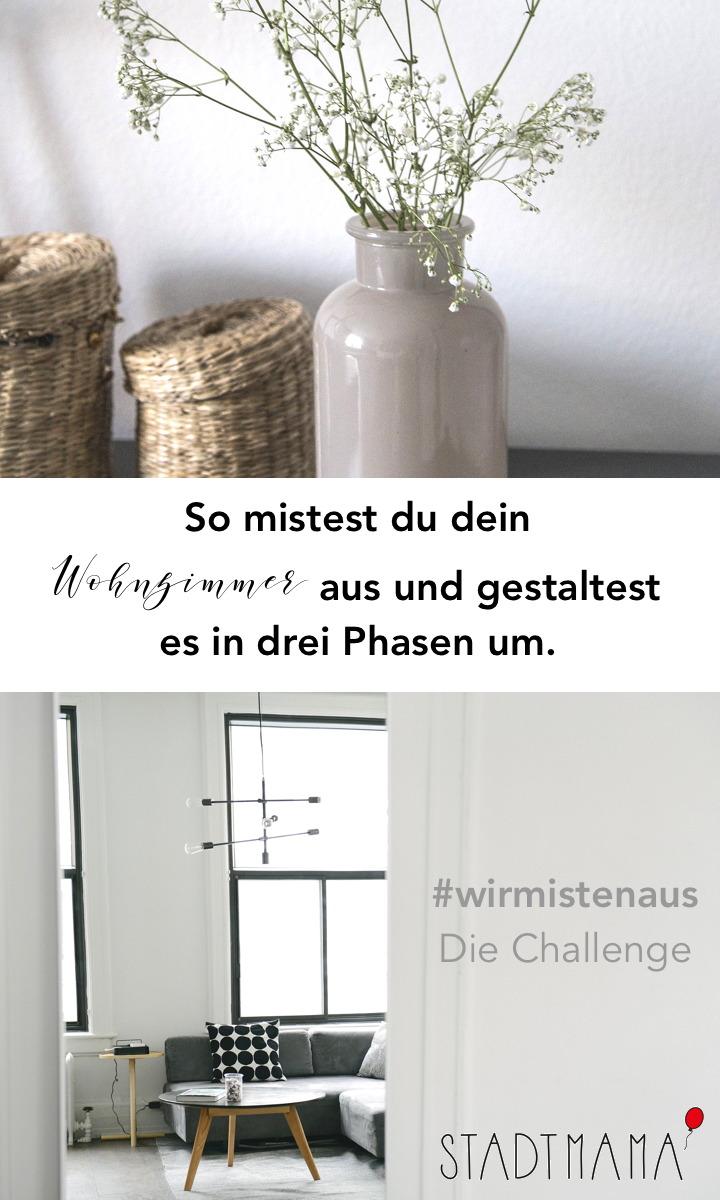 So mistest du dein Wohnzimmer in drei einfachen Schritten aus und gestaltest es um. #wirmistenaus und zwar gemeinsam.