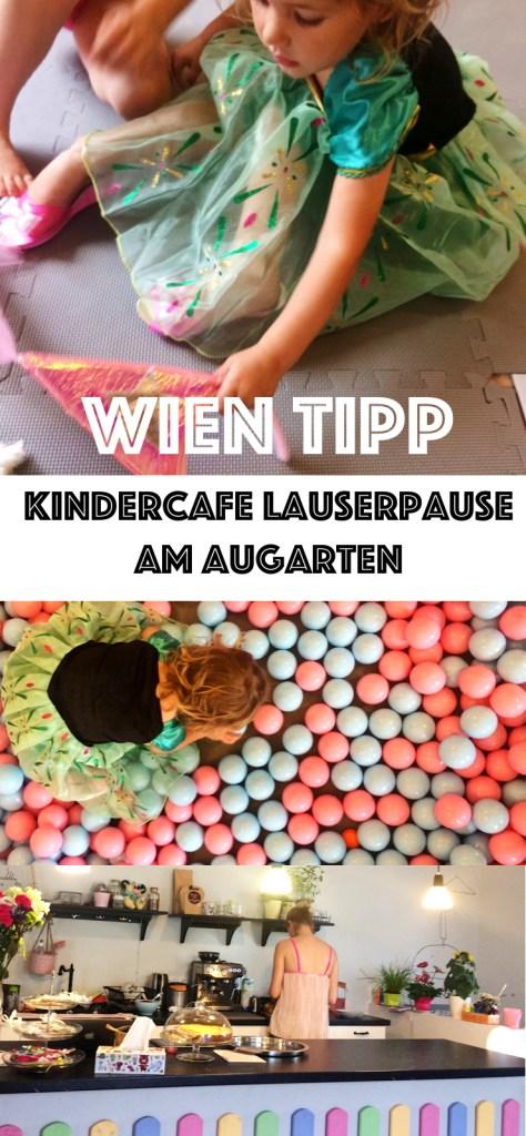 Wien Tipp für den gechillten Kaffee im Urlaub oder für den freien Nachmittag: Das Kindercafe Lausepause zentral und gleich beim Augarten.