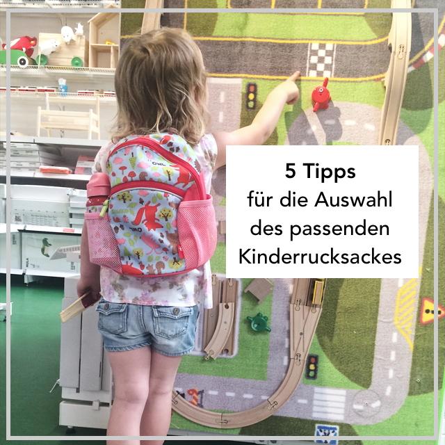 Tipps f+r den Kinderrucksack Einkauf