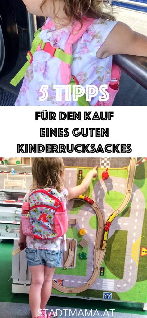 Wie finde ich den richtigen Kinderrucksack? Meine 5 Tipps zum Kauf des richtigen Rucksackes plus wir testen den sigikid Kinderrucksack Forest.