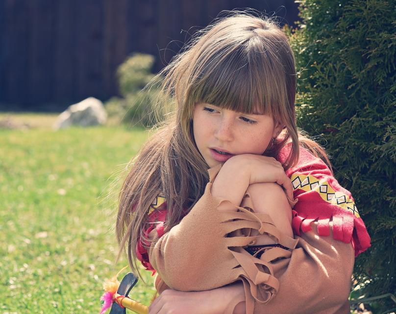 Kinder trösten