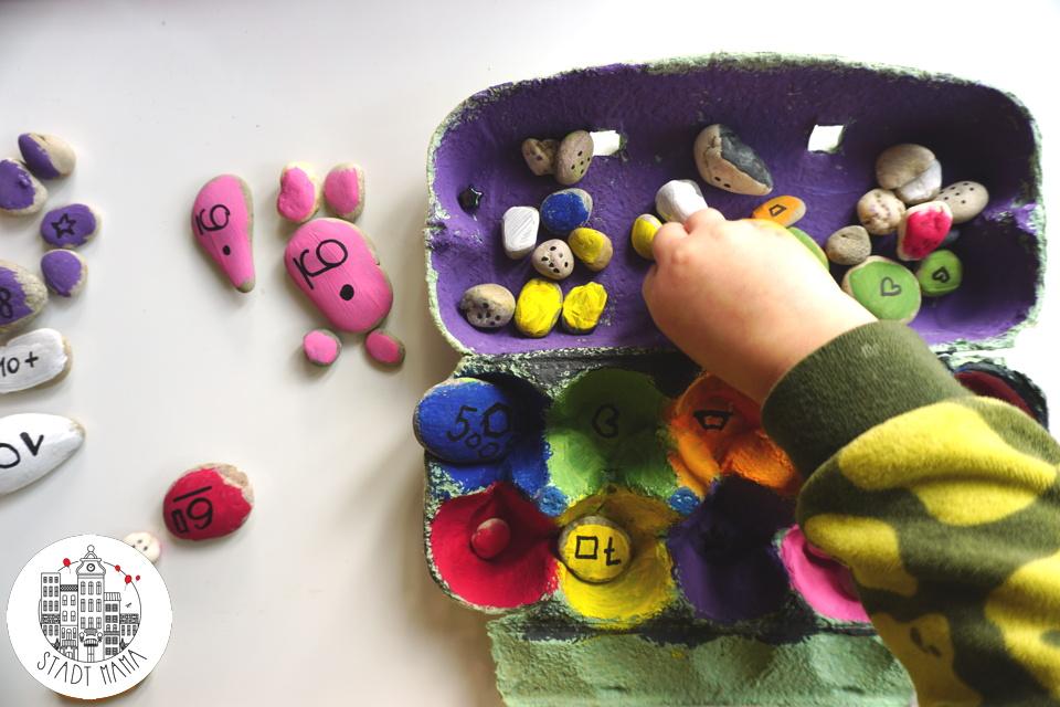 Montessori inspiriertes Lernspiel