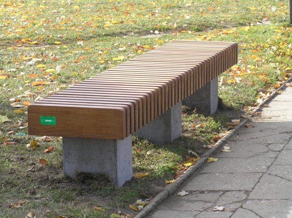 Sitzbank aus Beton L-56