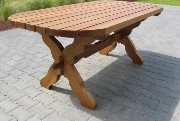 Gartentisch aus Holz S-118