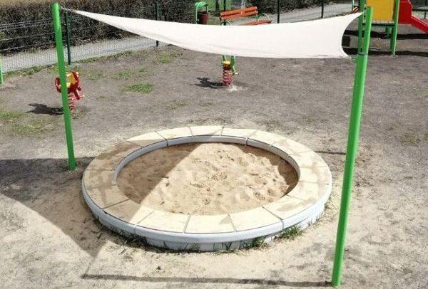 Sandkasten PZB-01 mit Überdachung