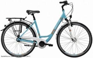 Citybike mit tiefen Einstieg Pressedienst Fahrrad