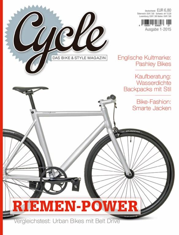 Cover der ersten Ausgabe des Cycle-Magazins