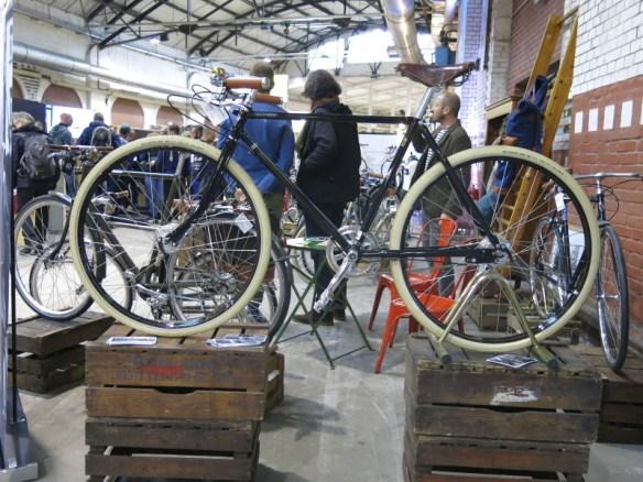 Fahrrad im Stil der 20er-Jahre