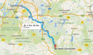 Fahrradtour Berlin-Lübben