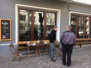 Gentle Jaunt an der Simon-Dach-Straße in Friedrichshain