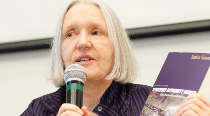 Saskia Sassen: The Global City: Today's Frontier Zone
