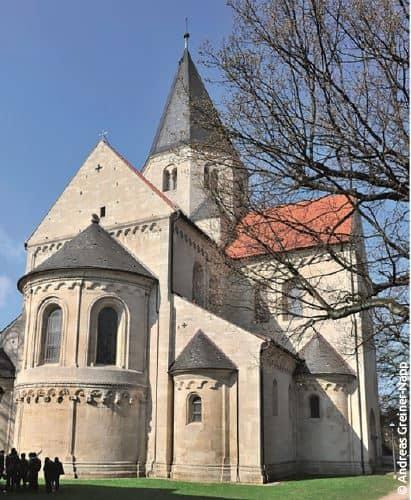 Der Kaiserdom zählt zu den bedeutendsten Bauwerken der Romanik in Deutschland.