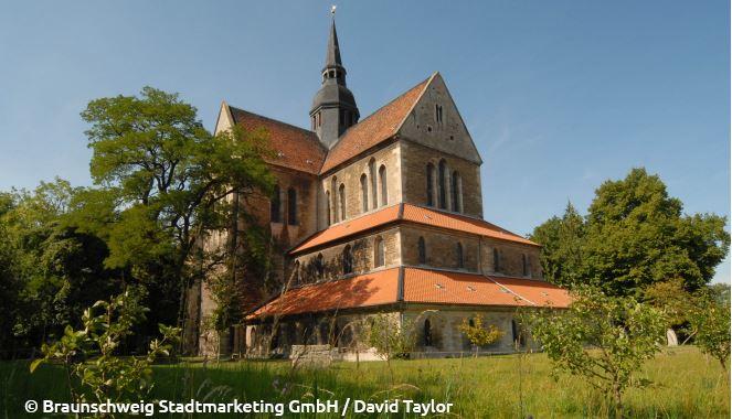 Die 1275 geweihte Klosterkirche in Riddagshausen
