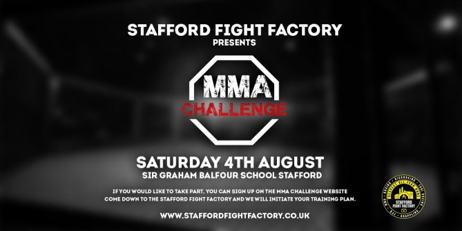 MMA CHALLENGE AUGUST 4th Stafford