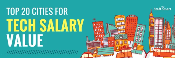 Top 20 Tech Cities for Tech Salary Value-banner