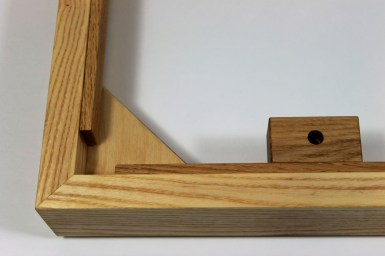 SAINDEC PLINTH FOR LINN LP12 OAK ABOVE