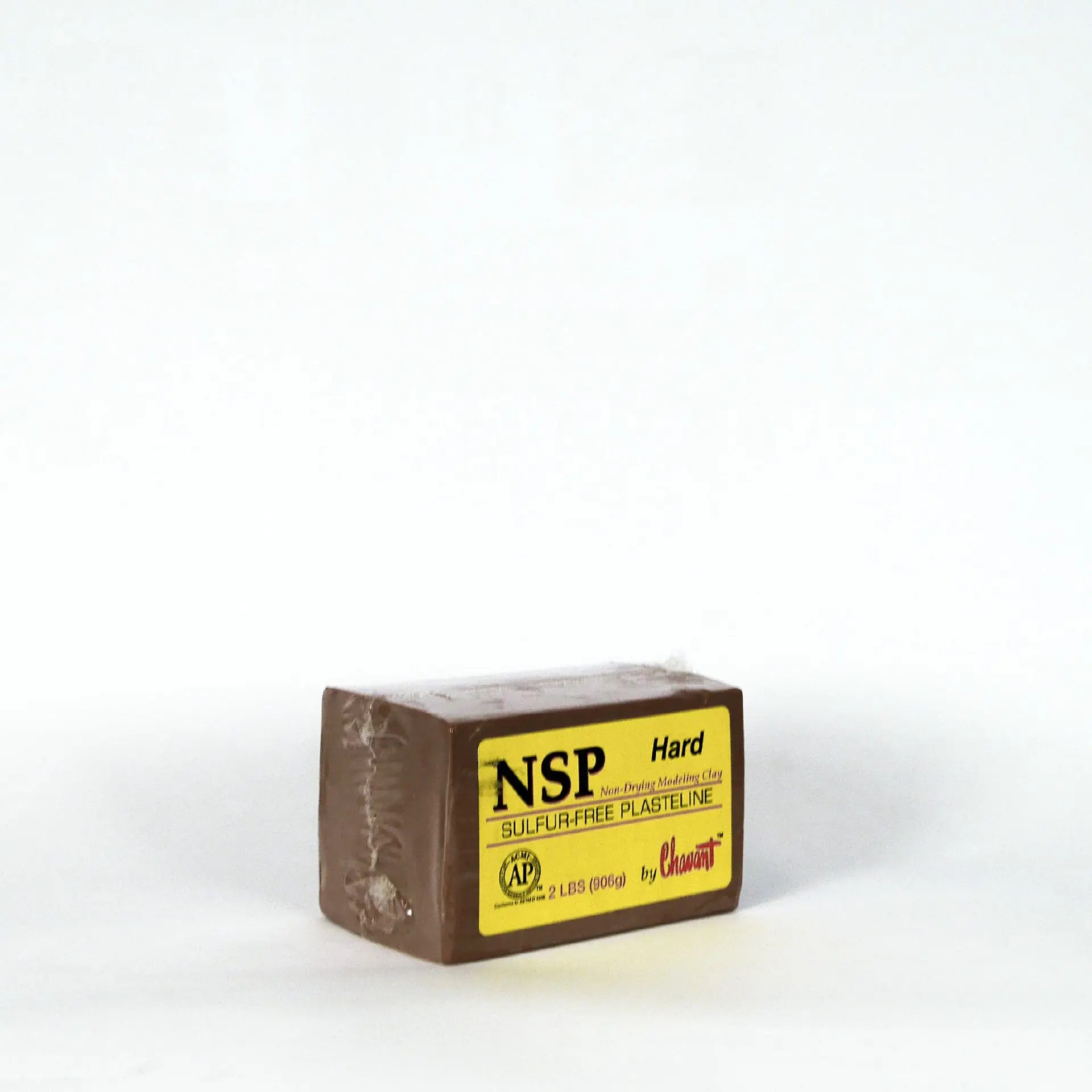 Chavant Clay NSP Medium Tan Sculpting and Modeling Clay 2lb Block SFX Makeup