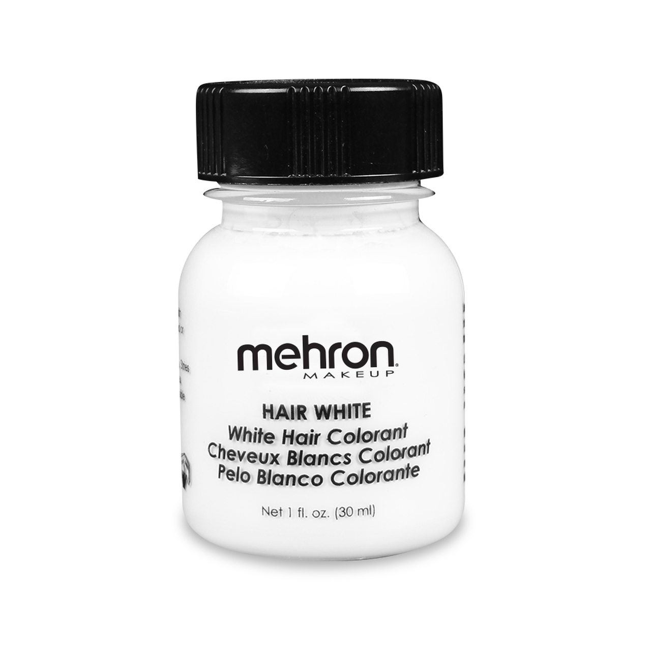 Mehron hair White