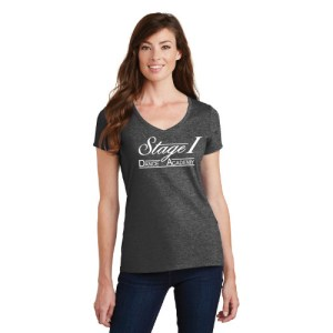 V-Neck Tee with Stage 1 Logo
