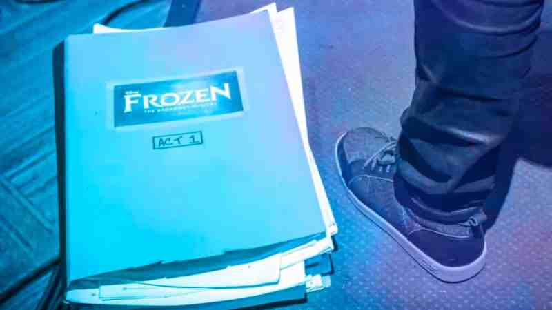 frozen musical west end