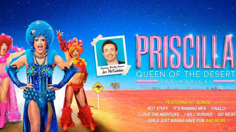 Priscilla Queen Of The Desert uk tour cast