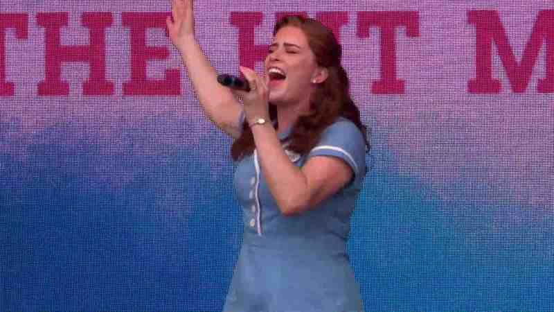 lucie jones west end live waitress