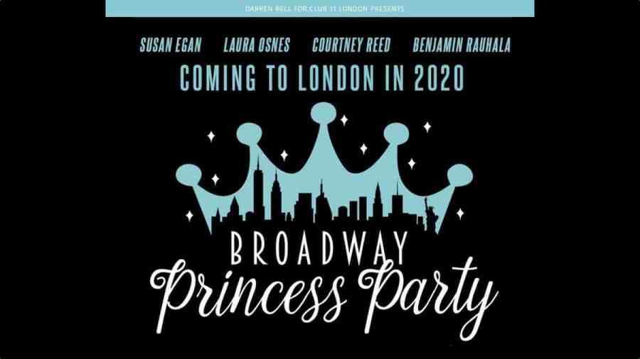 broadway princess party london