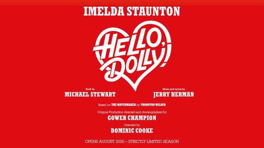 hello dolly west end 2020