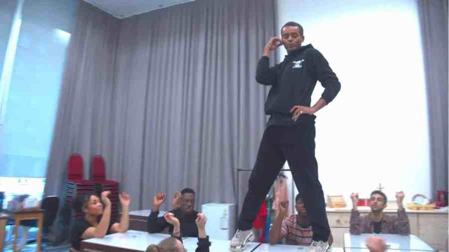 jamie musical tour rehearsals video