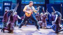 school of rock west end david fynn
