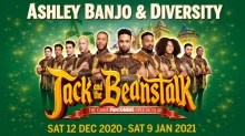 Milton Keynes Theatre Jack and The Beanstalk 2020 panto tickets and cast