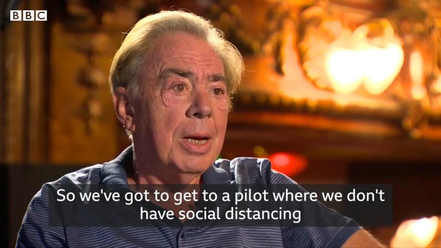 Andrew Lloyd Webber bbc