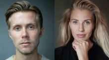 Rob Houchen and Celinde Schoenmaker