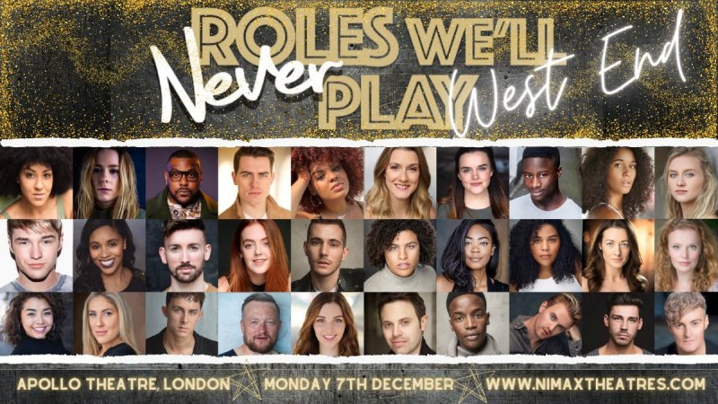roles welll never play west end tickets line up