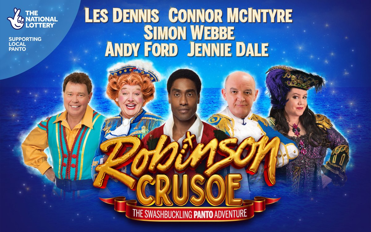 Robinson Crusoe at Plymouth's Theatre Royal