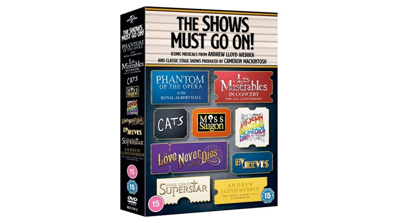 the shows must go on dvd boxset