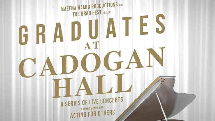 Graduates at Cadogan Hall Series