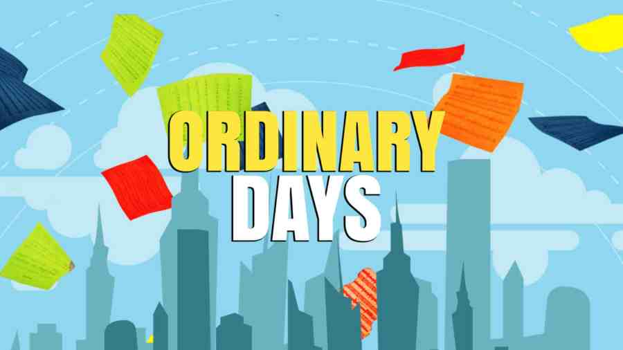 ordinary days stream